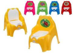 Židlička s vyjímatelným nočníkem Dohany