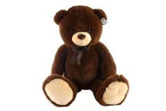 Plyšový medvěd tmavý 100 cm