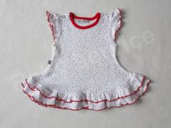 Šatičky krátký rukáv Puntík Baby Service vel. 62 - 86