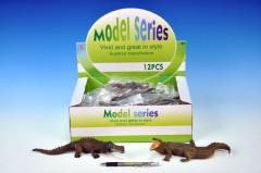 Krokodýl plast 21-23cm