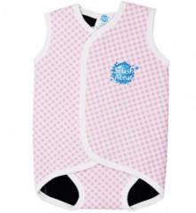 Baby neoprén-kombi - Růžová kostka