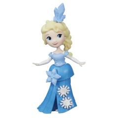 Frozen malé panenky - Elsa v modrých šatech
