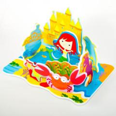 Meadow Sada pěnových hraček do vany Mořská panna