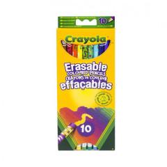 Smazatelné pastelky 10ks Crayola