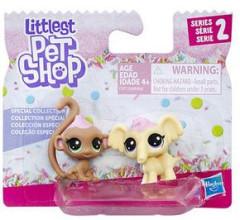 Littlest Pet Shop Dvě zvířátka - special collection SLON A OPIČKA