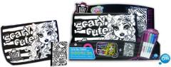 Color me mine kabelka + blok Monster High