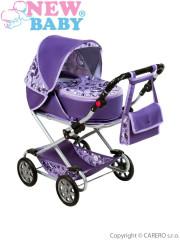 Dětský kočárek pro panenky 2v1 New Baby - Lily