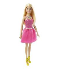 Barbie v třpytivých šatech RŮŽOVÝCH BLONDÝNKA