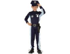 Karnevalový kostým - Policista, Vel. 120 - 130 cm