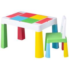 Dětská sada stoleček a židlička Multifun multicolor
