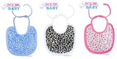 Kojenecký bavlněný bryndák New Baby Leopardík