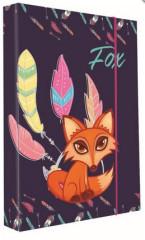 Desky na sešity Heft box A4 Premium Fox