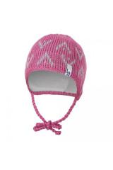 Čepice pletená zavazovací šipky Outlast® - Šeříková