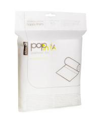Separační pleny PoP-in 160ks, 30x22cm 100% biodegaradovatelný materiál