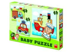 Baby puzzle autíčka Dino