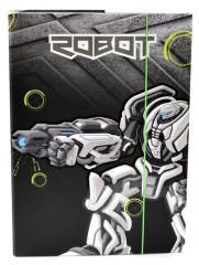 Desky na sešity Heft box A4 Premium Robot