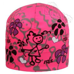 Funkční čepice jarní Růžová holka RDX