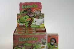 Líhnoucí se vejce ještěrka