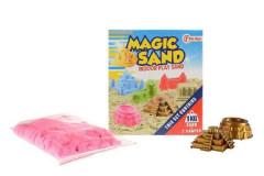 Magický - kinetický písek 1kg + 2 formičky