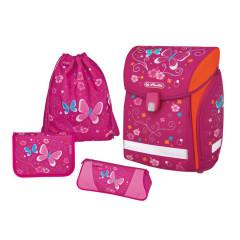 Školní batoh Herlitz Midi motýl vybavený SET