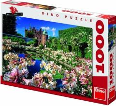Puzzle Hrad Egeskov 66x47cm 1000 dílků