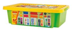Abrick 1940 kostky Učení čísel box 57 ks