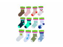Kojenecké ponožky chlapecké PD0505 12 - 18 měs. Pidilidi