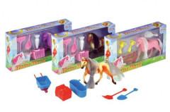 Kůň Poník s doplňky v krabičce 20x11x3cm