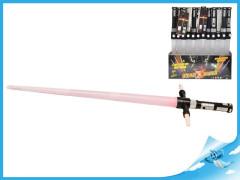 Laserový meč skládací 86cm na baterie se světlem a zvukem