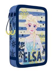 Penál 2patrový bez náplně Frozen II. Elsa