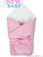 Rychlozavinovačka s mašlí růžová kostka