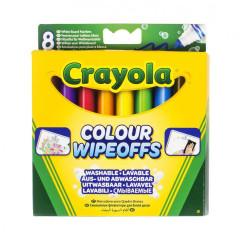 Fixy na bílou tabuli 8ks Crayola