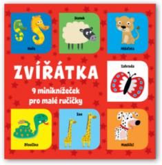 Zvířátka – 9 miniknížeček pro malé ručičky
