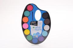 Malířská paleta s vodovkami 12 barev