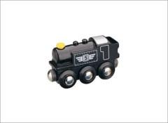 Maxim lokomotiva parní černá