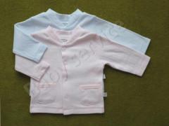 Bavlněný kabátek Handle proužky Babyservice