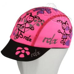Funkční letní kšiltovka Coolmax RDX růžová s panenkou