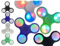 Fidget Spinner LED světelný