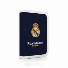 Penál jednopatrový 2 chlopně, prázdný Real Madrid