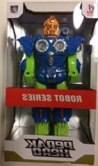 Robot 30cm na baterie se zvukem a světlem