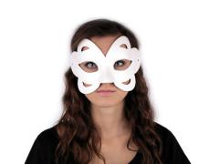 Karnevalová maska - škraboška k domalování