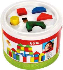 Kostky v kbelíku 30 ks Bino