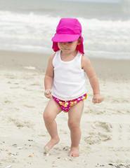Baby Banz UV Čepice růžová 4 - 8 let