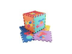 Pěnové puzzle podložka 32cm - dopravní prostředky a zvířátka 10 ks