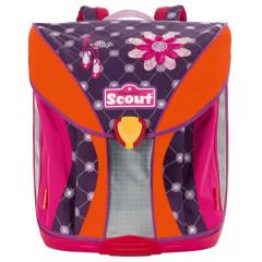 Školní batoh Scout - Baleríny a květina