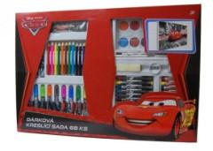 Kufřík set - kreslící dárkový set 68ks Cars