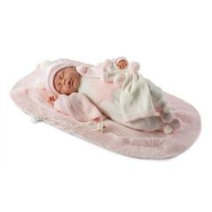 Panenka - New Born spící holčička  42 cm