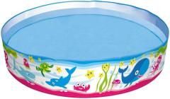 Bazén pevný 122x25cm motiv mořský svět 219L