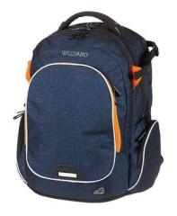 Studentský batoh WIZZARD Blue, Walker