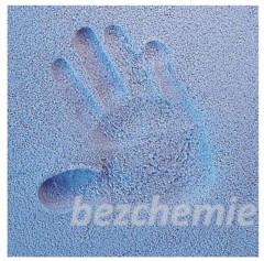 Otisk ručičky nebo nožičky v písku- modrý
